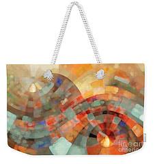 Christian Art- My Refuge Deuteronomy 33 27  Weekender Tote Bag