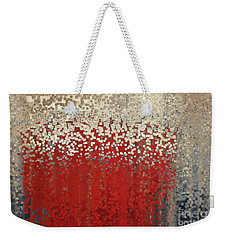 Christian Art- You Can't Do It Alone. Zechariah 4 6 Weekender Tote Bag by Mark Lawrence