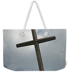 Christian Cross Weekender Tote Bag