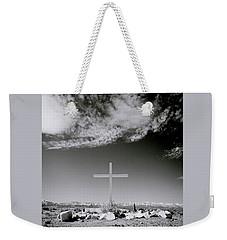 Christian Grave Weekender Tote Bag by Shaun Higson