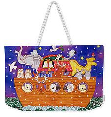 Christmas Ark Weekender Tote Bag