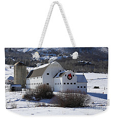 Christmas At The Farm Weekender Tote Bag