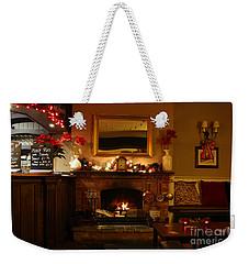 Christmas At The Pub Weekender Tote Bag