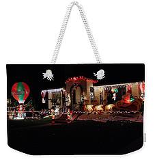 Christmas Baloon Weekender Tote Bag