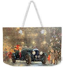 Christmas Bentley Weekender Tote Bag