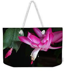 Christmas Cactus November 2014 1 Weekender Tote Bag