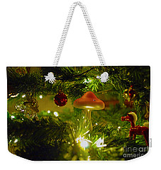 Weekender Tote Bag featuring the photograph Christmas Card by Cassandra Buckley