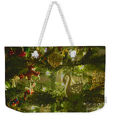 Weekender Tote Bag featuring the photograph Christmas Cheer by Cassandra Buckley