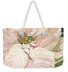 Weekender Tote Bag featuring the painting Christmas Classic by Barbara Jewell