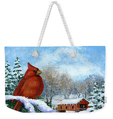 Christmas Creek Weekender Tote Bag