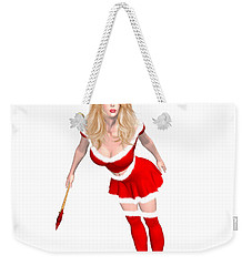 Christmas Elf Elise Weekender Tote Bag