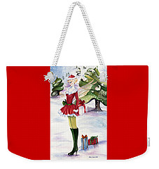 Christmas Fantasy  Weekender Tote Bag