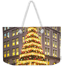 Christmas In Pittsburgh  Weekender Tote Bag by Emmanuel Panagiotakis