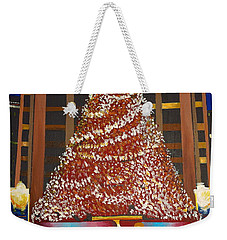 Christmas In The City Weekender Tote Bag by Donna Blossom