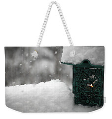 Christmas Lantern Weekender Tote Bag by Katie Wing Vigil