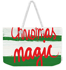 Christmas Magic - Greeting Card Weekender Tote Bag