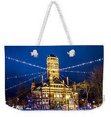 Christmas On The Square Weekender Tote Bag