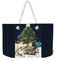 Christmas Parade Weekender Tote Bag