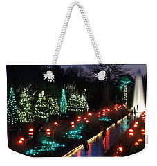 Christmas Reflections Weekender Tote Bag