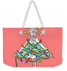 Christmas Spirit Weekender Tote Bag
