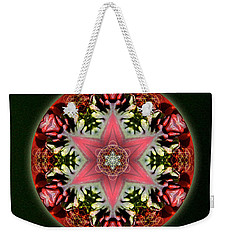 Christmas Star Weekender Tote Bag