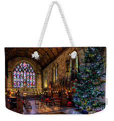 Christmas Time Weekender Tote Bag