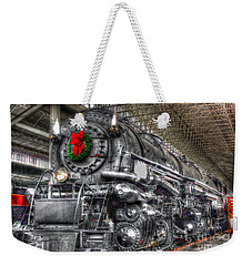 Christmas Train-the Holiday Station Weekender Tote Bag