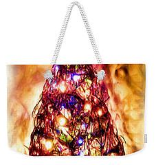 Weekender Tote Bag featuring the digital art Christmas Tree by Daniel Janda