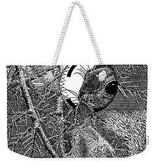 Christmas Tree Squirrel Weekender Tote Bag