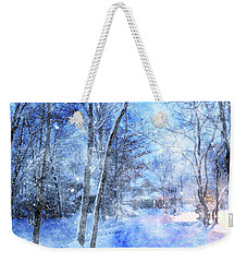 Christmas Wishes Weekender Tote Bag