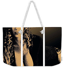 Christy Canyon In Copper Weekender Tote Bag