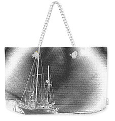Chromed Sailboats In Key Largo Weekender Tote Bag