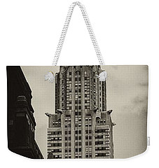 Chrysler Weekender Tote Bag by Andrew Paranavitana