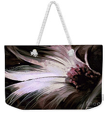 Weekender Tote Bag featuring the painting Chrysanth by Shanina Conway