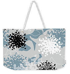 Weekender Tote Bag featuring the digital art Chrysanthemum by Jocelyn Friis
