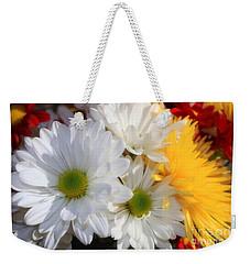 Chrysanthemum Punch Weekender Tote Bag