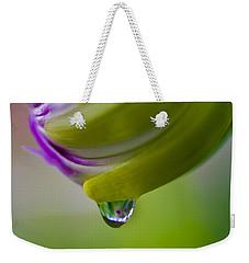 Raindrop Bud Weekender Tote Bag