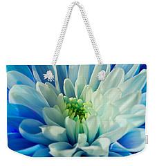 Chrysanthemum Weekender Tote Bag by Scott Carruthers