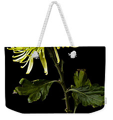Weekender Tote Bag featuring the photograph Chrysanthemum by Sennie Pierson