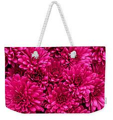 Chrysantheumums Weekender Tote Bag