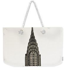 Chrysler Building - Nyc Weekender Tote Bag