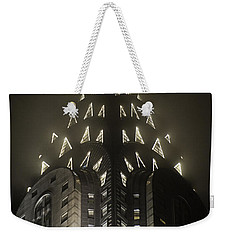 Chrysler Fog Lights Weekender Tote Bag