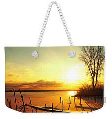 Chtistmas Dock 1 Weekender Tote Bag