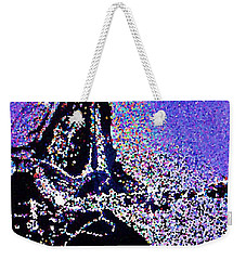 Chuck Berry Rocks Abstract Weekender Tote Bag