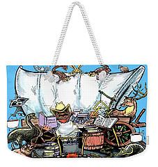 Chuckwagon Weekender Tote Bag