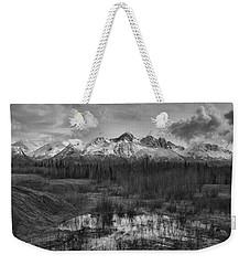 Chugach Mtn Range Weekender Tote Bag