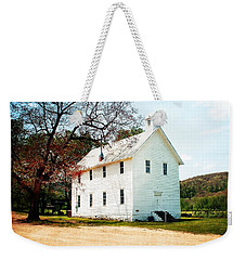 Weekender Tote Bag featuring the photograph Church At Boxley by Marty Koch