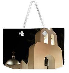Church At Night In Playa Del Carmen Weekender Tote Bag