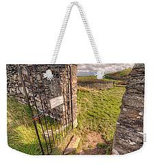 Church Gate Weekender Tote Bag