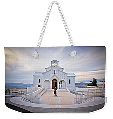 Church Of Croatian Martyrs In Udbina Weekender Tote Bag by Brch Photography